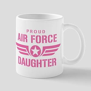 Proud Air Force Daughter W [pink] Mug